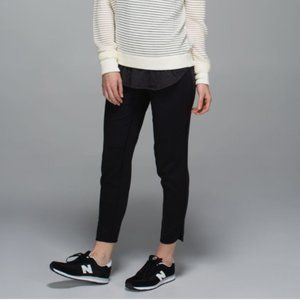 Lululemon Straight To Class black tapered pant 4